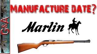 Guide marlin serial number Marlin Serial