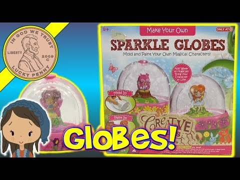 Sparkle Snow Globe Making Kit For Kids - Crafting Time With Alyse!