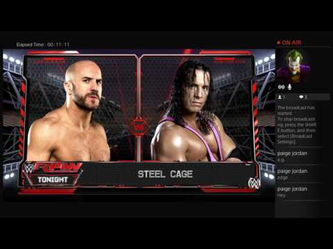 WWE2K16 with Dakota