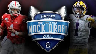 2021 NFL Mock Draft: Way Too Early Edition | #NFLRT