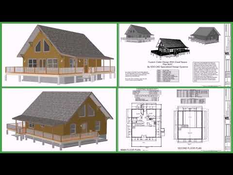 Free Small Cabin Floor Plans With Loft