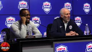 Gregg Popovich Calls Patty Mills A Pain In The Ass Following USA's 102-86 Win Over Australia HoopJab