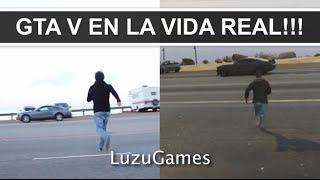 GTA V EN LA VIDA REAL! EL BAR DE MOTEROS - [LuzuGames]
