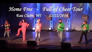 home free full of cheer tour eau claire wi dec 22 2014