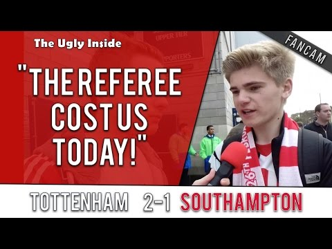 """The referees cost us today!"" 