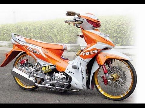 Motor Modifikasi Terkini Modif Motor Revo 110