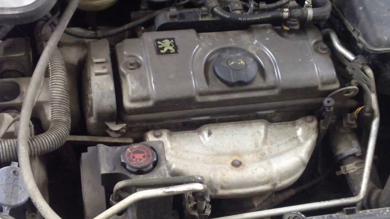 peugeot 206 глохнет прогретый двигатель