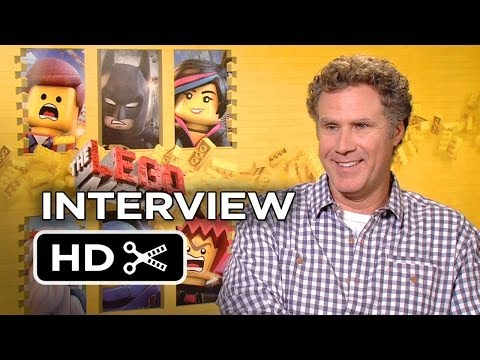 The Lego Movie Interview - Will Ferrell (2014) - Morgan Freeman, Chris Pratt Movie HD
