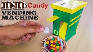 How To Make money operated M&M's Candy vending machine