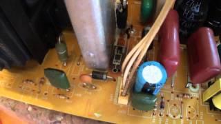 TV Philco PH 21M SS - Efeito almofada - Reparo