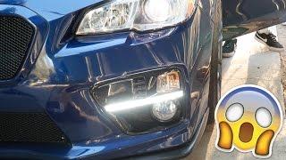 homepage tile video photo for Subispeed S4 Style Bezel 2015 - 2017 Subaru WRX Install