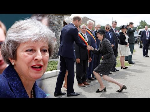 Who does Theresa May have to CURTSY to?