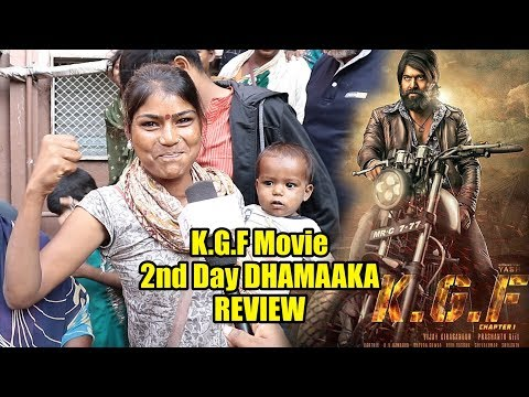 K.G.F Movie Second Day DHAMAKA Review | K.G.F Hindi Review