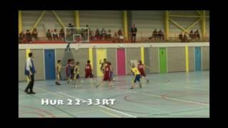 River Trotters U14 tegen Hurricanes (2008)