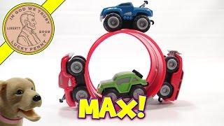 Max Tow Truck Mini Off-road Playset, Jakks Pacific.  It Pulls A 5lb Sledge!