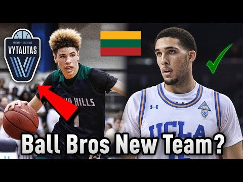 LiAngelo & LaMelo Ball's NEW TEAM In EUROPE! | Ball Brothers Sign PRO Contract!