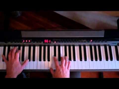 Stevie Wonder - Isn't She Lovely - Piano Lesson Part 1