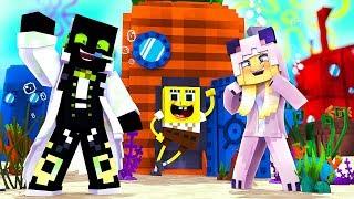 1 TAG im LEBEN von SPONGEBOB?! - Minecraft [Deutsch/HD]