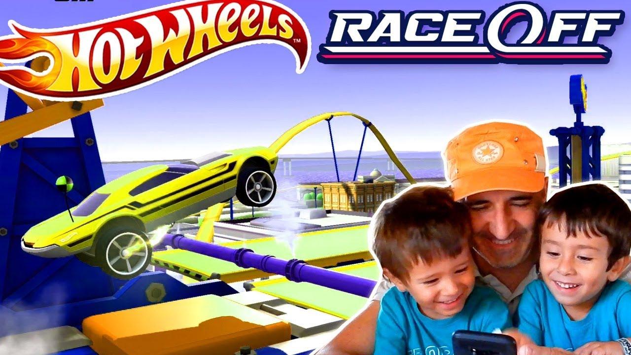 Hot Wheels Race Off Desafio Supercargado Juegos Y Aplicaciones