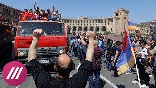 В Ереване заблокировали все дороги. Тотальная забастовка
