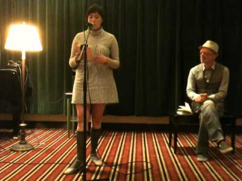 Sarah Carpenter (reading with Peter Bullen) - Bay Area Generations - May 2014 - Hotel Rex - SF