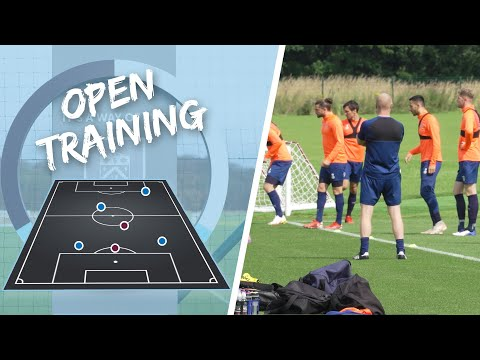 TRAINING |  The clarets prepare for the start of the season
