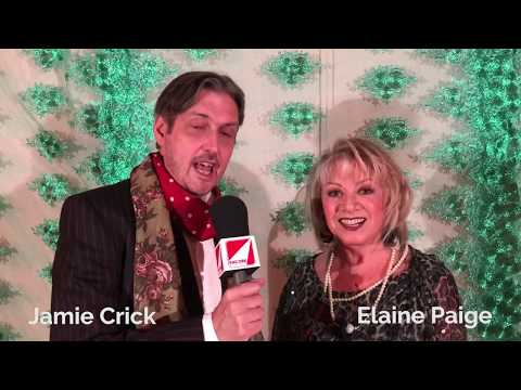 Jamie Crick talks to Elaine Paige at the Launch of Hair The Musical's 50th Anniversary