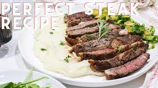How to make the PERFECT STEAK recipe  Easy Steak Recipe  Anitas Delights