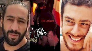 ظهور صورة جديدة لسعد المجرد داخل الملهى الليلي ليلة اعتقاله وهذا هو الجزائري مارز المتورط في القضية