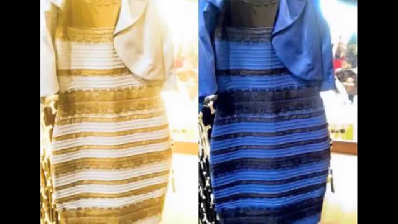 What Color Is This Dress Gold And White Blue Black Youtube