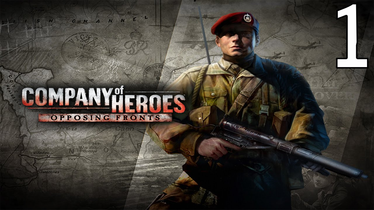 company of heroes liberation of caen part 1 authie: boudica's boys