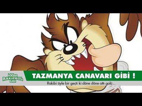 Halı Sahada Tazmanya Canavarı !