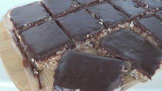 Торт без выпечки Баунти нереально вкусно, полезно и просто, .