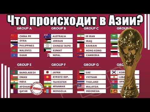 Что происходит в азиатском отборе? Чемпионат мира 2022.