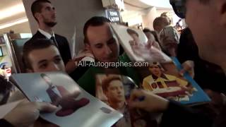 Topher Grace signing autographs at the Cannes Film Festival