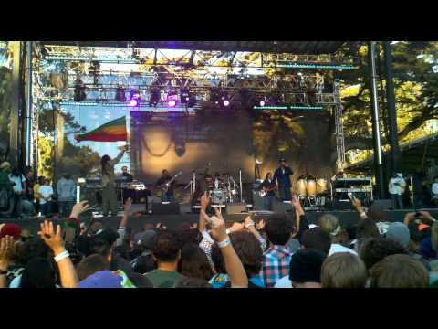 Nas and Damian Marley - Count your blessings at Outside Lands 2010