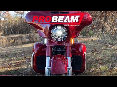 ProBEAM Dynamic Strips LED Front Turn Signals for H-D FLHX & FLHT