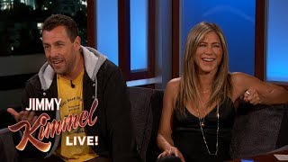 Jennifer Aniston & Adam Sandler on Shooting Movie in Italy Together