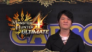 Monster Hunter 4 Ultimate Announcement message from Producer Ryozo Tsujimoto