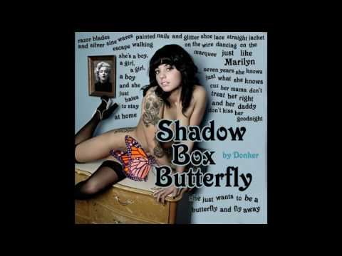 Shadow Box Butterfly : Audio - Donker - Debut Album Dying Star