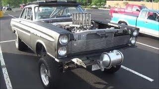 1965 Mercury Comet Fuel Injected Gasser DGTV Cars
