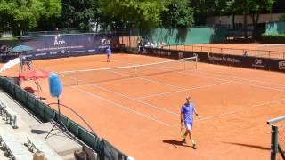 Tennis Rudi Molleker vs. Adrian Andreev German Juniors 2017