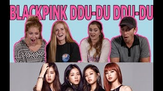 BLACKPINK DDU-DU DDU-DU reaction! First time watching K-POP!