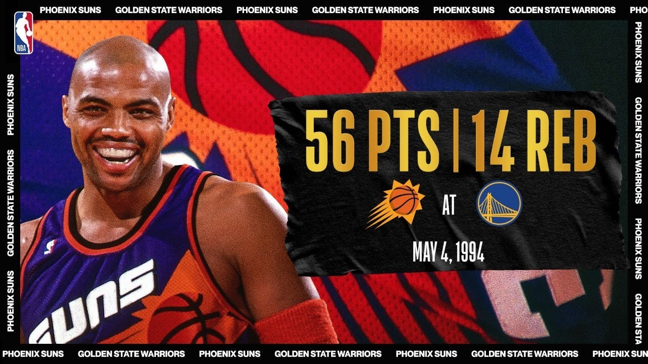 Charles Barkley Has Career-High 56-PT Night | #NBATogetherLive Classic Game