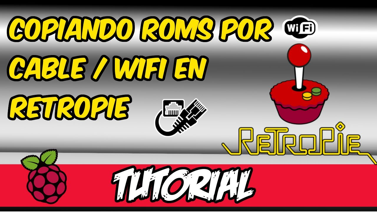 how to download roms on retropie wifi