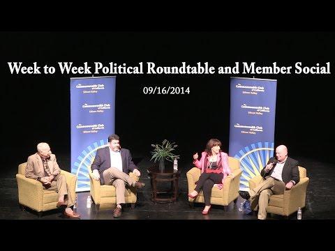 Week to Week Political Roundtable and Member Social (09/16/14)