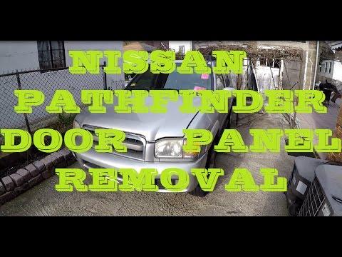 How To Remove 99 04 Nissan Pathfinder Door Panel Youtube