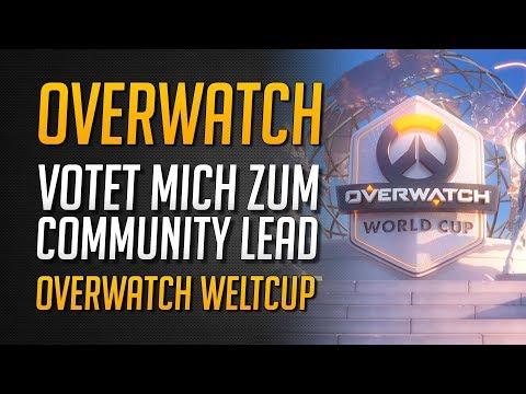 Community Lead Voting eröffnet | Helft mir Team Deutschland Hype zu erzeugen! ★ Overwatch Deutsch