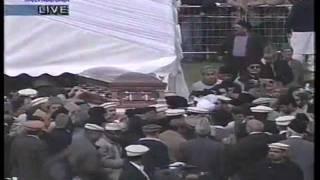 Funeral of Hadhrat Khalifatul Masih IV.