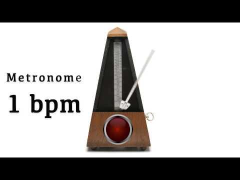 Metronome 1 bpm 🎼